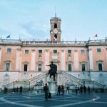 Palazzo Senatorio in Rome, at present.
