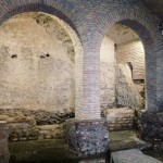 Reconstructed arches along the archaeological itinerary, Rome‬, Museo Nazionale Romano - Crypta Balbi