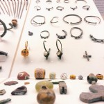 Accessories discovered in an archaeological deposit dating to the 7th century, Rome‬, Museo Nazionale Romano - Crypta Balbi
