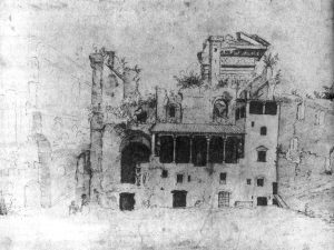 "Circle of Maarten van Heemskerck, The Colonna ""loggia"" at the Quirinal, 1534 - 1536"