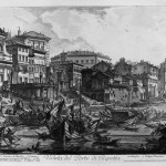 Giovanni Battista Piranesi, View of the porto di Ripetta