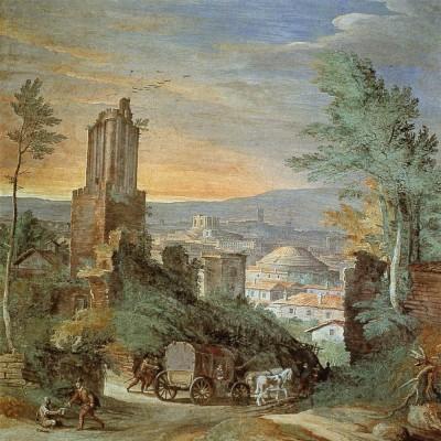 Paul Bril, Landscape with Roman Ruins