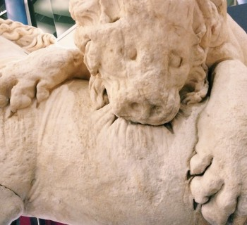 Lion Attacking a Horse (detail)