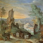 Paul Bril, Landscape with Roman Ruins