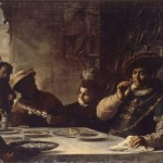 Mattia Preti, The dinner of the wealthy Epulon