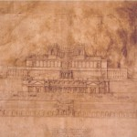 Pietro da Cortona, Design for the reconstruction of the Sanctuary of Fortuna Primigenia at Palestrina