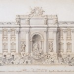 Nicola Salvi, Project of the Trevi Fountain