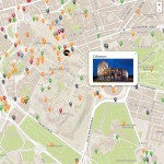 Milestone Rome map