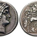 AR Didrachm or Quadrigatus with Janus and Jupiter