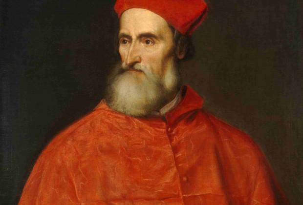 Tiziano Vecellio, Portrait of Pietro Bembo Cardinal