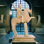 Equestrian statue of heroized young rider, Aula X, Museo Nazionale Romano alle Terme di Diocleziano