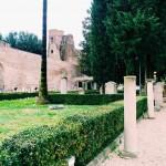 The entrance garden, Rome, Museo Nazionale Romano alle Terme di Diocleziano