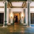 """Entrance to Palazzo Brancaccio, seat of the Museo Nazionale d'Arte Orientale """"Giuseppe Tucci"""", Rome"""