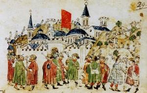 Pilgrims of the Jubilee of 1300
