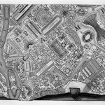 Robert Adam, Giovanni Battista Piranesi, Map of Campus Martius, 1762, etching