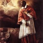 Orazio Borgianni (1578–1616), St. Carlo Borromeo adoring the Trinity, ca. 1611-1612, sacristy of chiesa di San Carlo alle Quattro Fontane