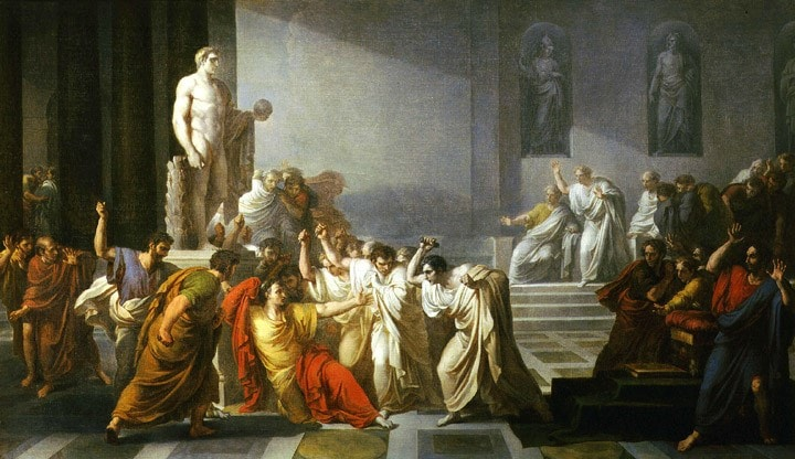 Julius Caesar Assassinated