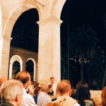 "Tour by night of Palazzo Venezia in Rome, guided by the museum director Sonia Martone, on the occasion of ""Il giardino ritrovato"" initiative on 2016 summer nights"