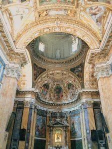 Interior of chiesa di Santa Maria ai Monti, Rome