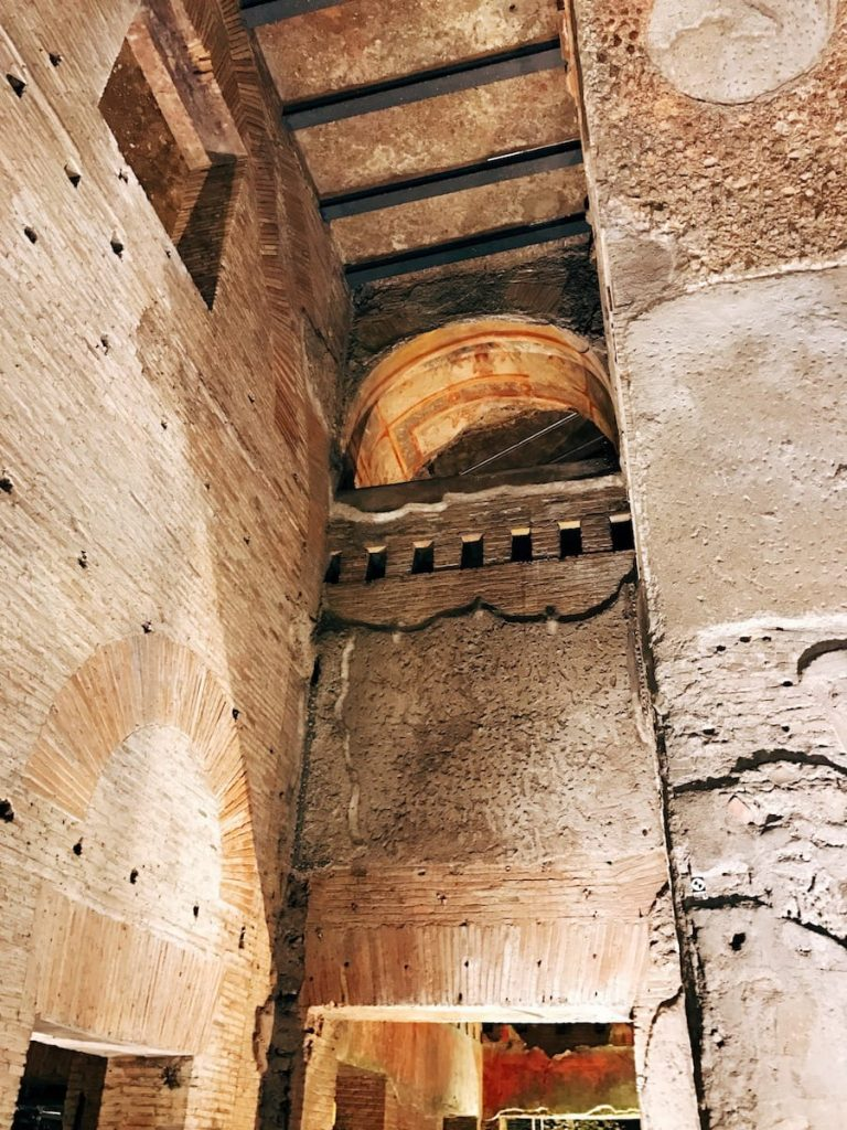 Interior passageway, 1st century AD, Domus Aurea, Rome
