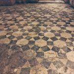 Mosaic pavement, 1st century AD, Domus Aurea, Rome