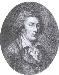 François Bonneville, Quatremère de Quincy, ca. 1787 (?)