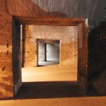 Interior passageway in the Colosseum