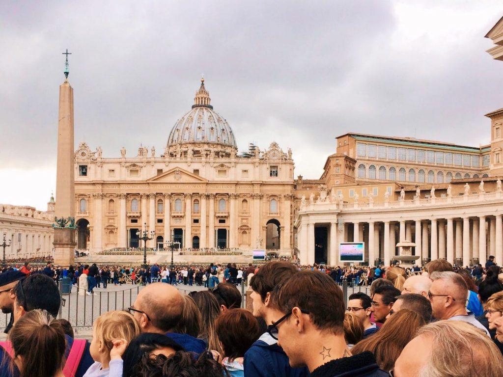 The basilica di San Pietro, today