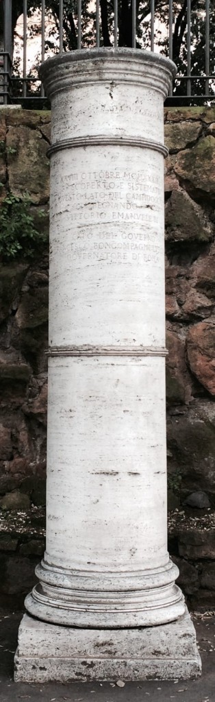 Miliarium in vico Jugario
