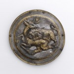 Phalera with Relief of Lion Attacking a Stag
