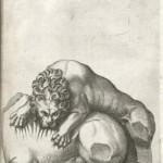 Giovan Battista de' Cavalieri, Fragmentum e marmore mira arte celeberatum in capitolio Romae