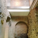 Stratigraphy of the medieval houses interiors, leaning against the northern perimetral wall of the Crypta Balbi, Rome, Museo Nazionale Romano - Crypta Balbi