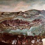 Giovanni Maria Tamburini, Siege of Casale Monferrato (l'assedio di Casale Monferrato), 17th century, Sala dei Ricami