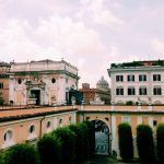 View of Rome from Palazzo Colonna