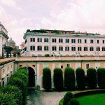 Entrance courtyard, Palazzo Colonna, Rome