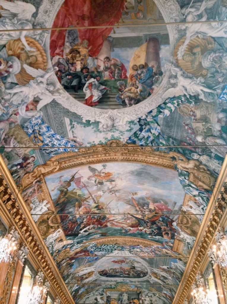 Giovanni Coli and Filippo Gherardi, Commemorative frescoes dedicated to Marcantonio II Colonna, protagonist of the Christian victory at the Battle of Lepanto, 17th century