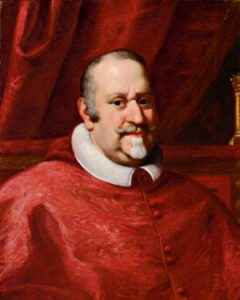 Attributed to Jacopo Bighi, Portrait of the cardinal Girolamo Colonna