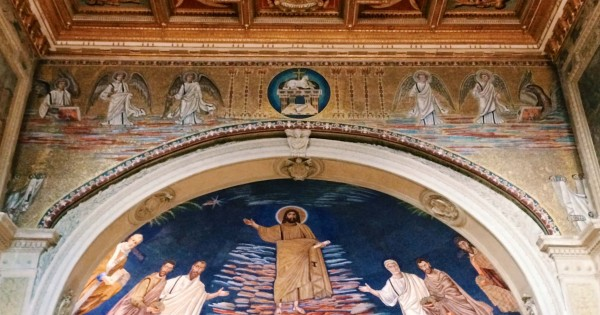Basilica dei Santi Cosma e Damiano, Rome.