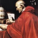 J. Ribera, San Gregorio Magno