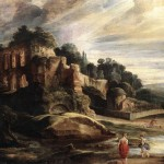Peter Paul Rubens, Landscape with the Ruins of Mount Palatine in Rome