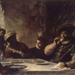 Mattia Preti, The dinner of the wealthy Epulon