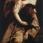 Orazio Gentileschi, Saint Francis and the Angel