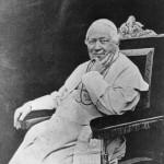 Pope Pio IX, born Giovanni Maria Mastai-Ferretti.