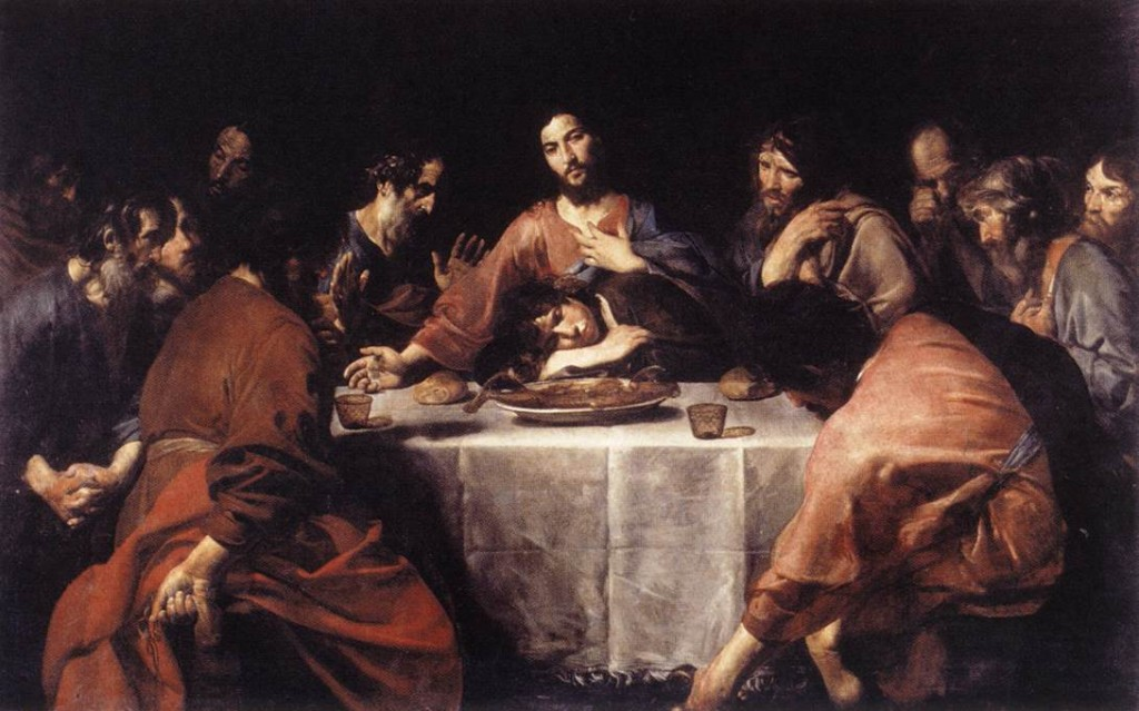 Valentin de Boulogne, The Last Supper