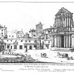 Giovan Battista Falda, Chiesa de Santi Vincenzo, et Anastasio alla fontana di Trevi
