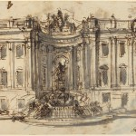 Luigi Vanvitelli, Proposal for the Trevi Fountain