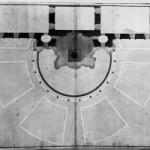 Luigi Vanvitelli (project), Virginio Bracci (drawing), Project A for the Trevi Fountain, plan