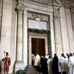 Opening of the Holy Door at San Pietro