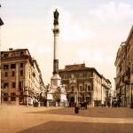 Piazza Mignanelli, Rome, Italy, ca. 1895