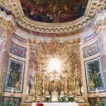 Interior of the chiesa di Santa Maria della Vittoria